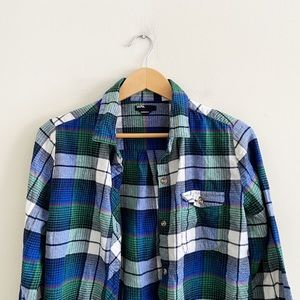 BDG boyfriend fit flannel from Urban Outfitters!